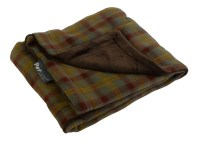 Country Check Pet Blanket Reversible Soft Fleece Petface ...