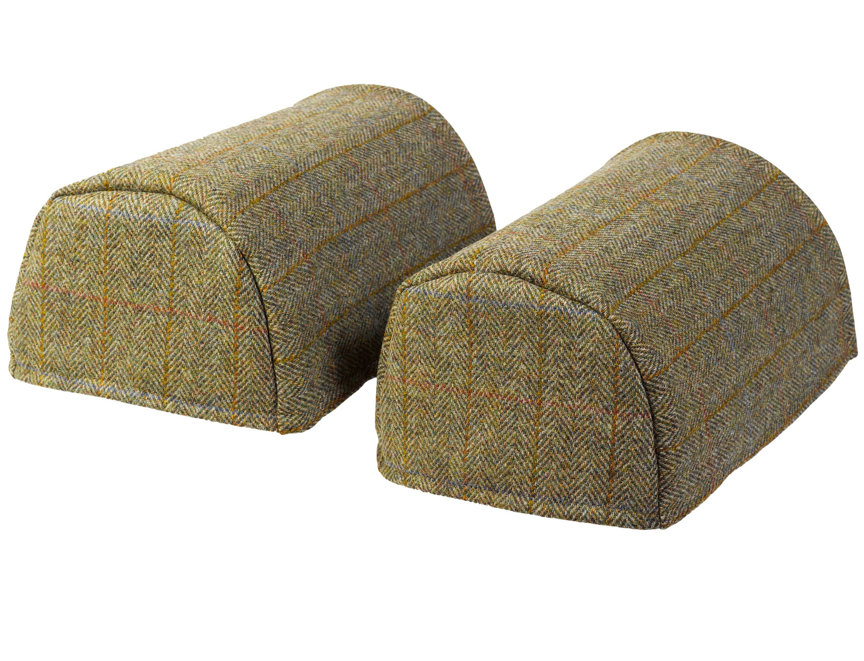 chair covers scotland bed scottish tweed standard round arm caps 100 pure new wool