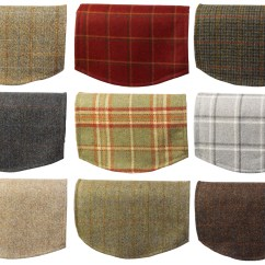 Chair Covers Scotland Active Sitting Canada Single Antimacassar Chairback Pure New Wool Scottish Tweed
