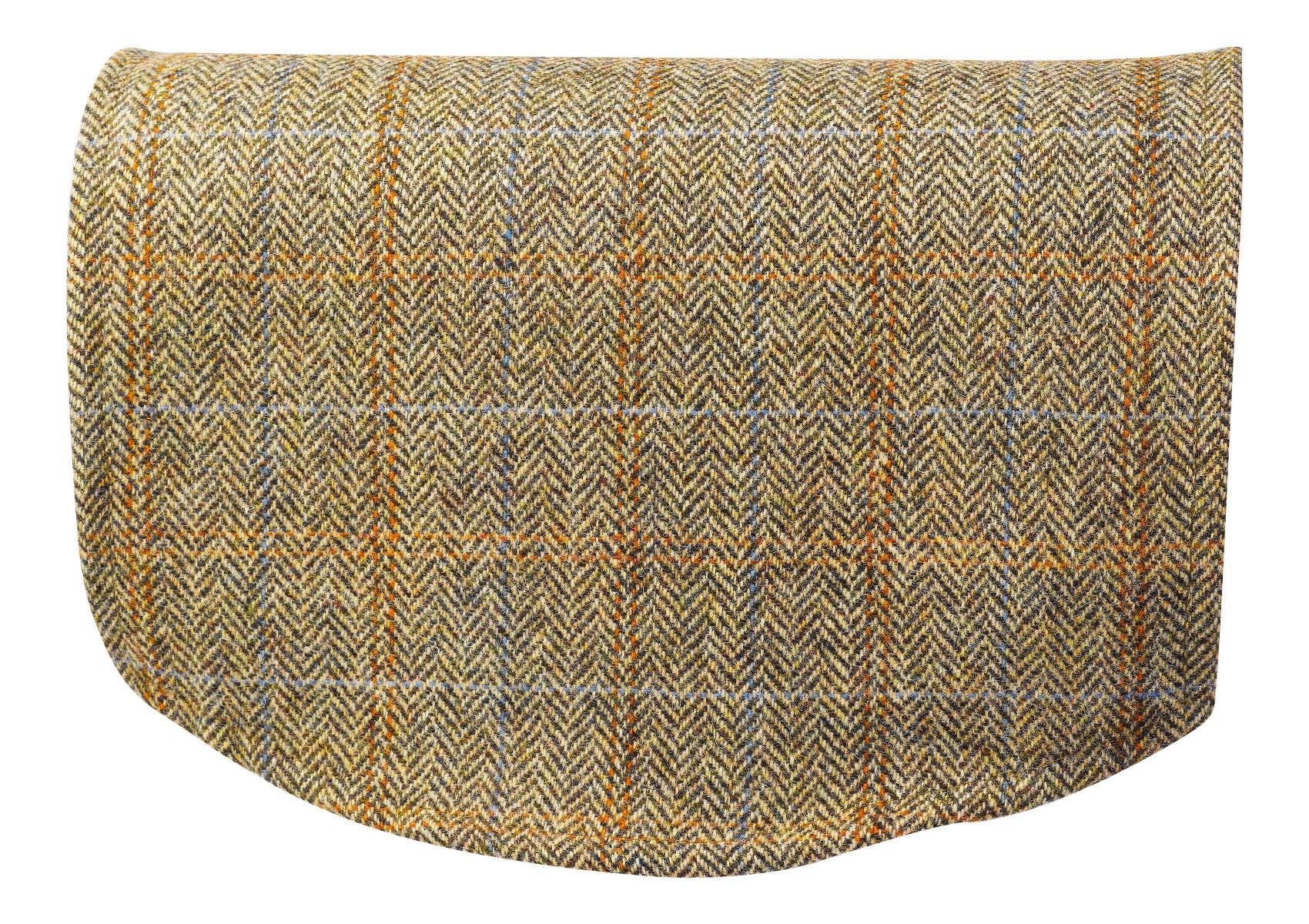 chair covers scotland tempur pedic scottish tweed single back 100 pure new wool sofa