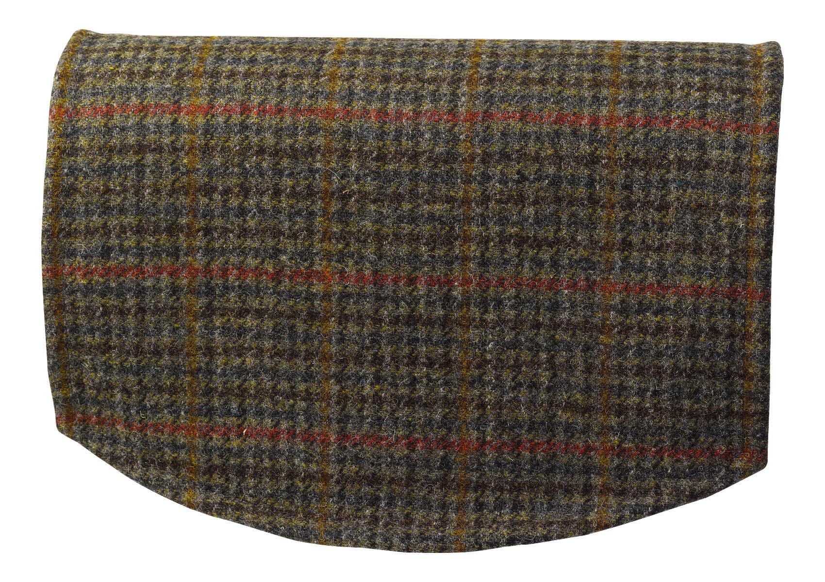 chair covers scotland baseball glove bean bag scottish tweed single back 100 pure new wool sofa
