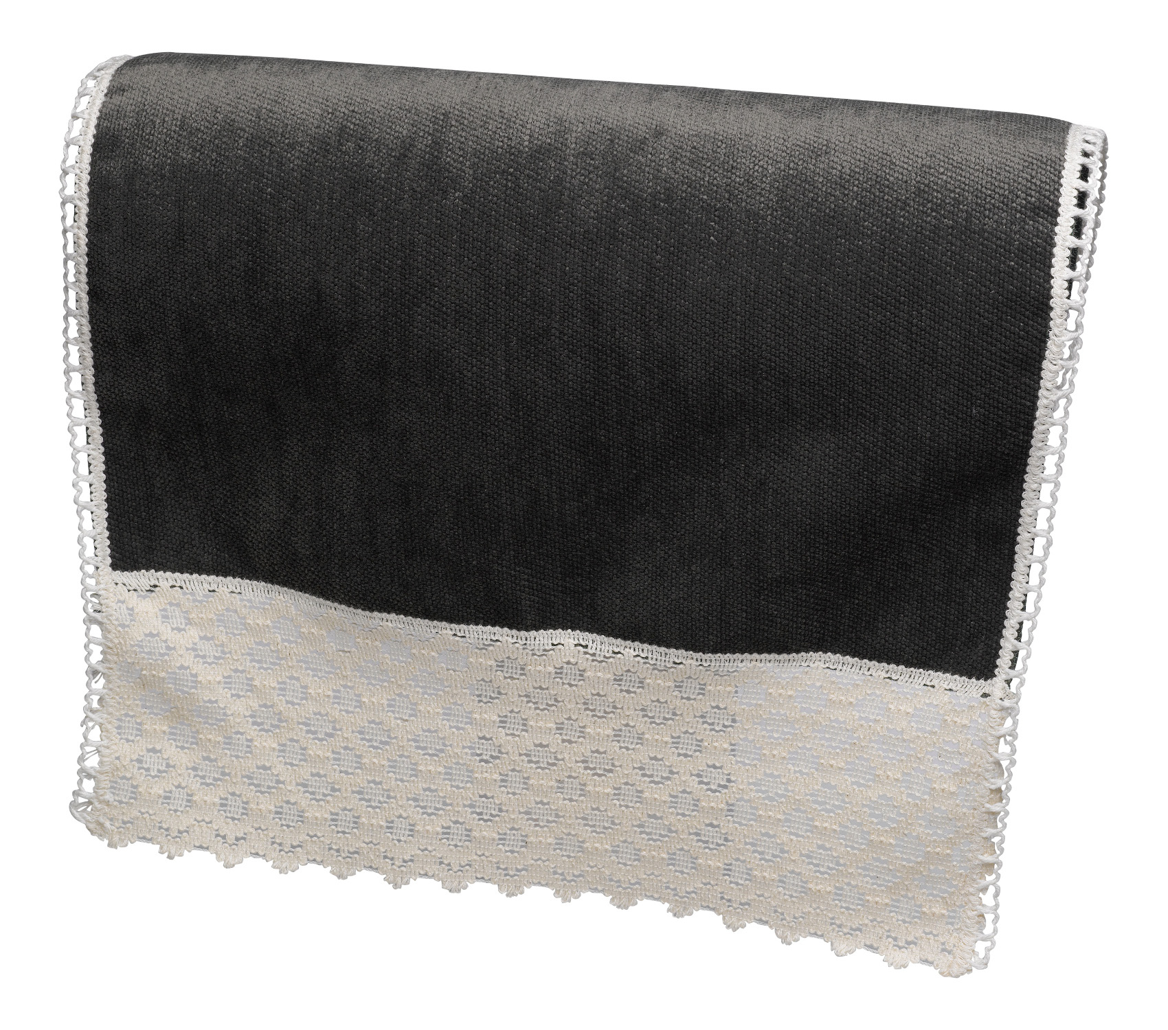 leather chair covers ebay human touch massage replacement parts chenille lace trim antimacassar chairback cotton sofa