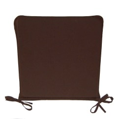 Dining Room Chair Pillows Leather And Ottoman Set Square Kitchen Seat Pad Garden Furniture