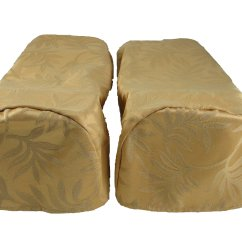 Arm Chair Cap Covers Grey Rocking Pair Gold Settee Decorative Ebay