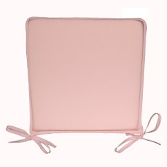 Pale Pink Chair Oversized Chairs For Sale Light Seat Pad Garden Kitchen Cushion Ebay