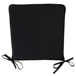 Black Chair Pads Oxo Tot High Recall Square Kitchen Seat Pad Garden Furniture Dining Room