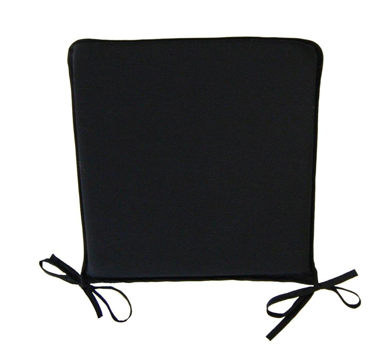 chair cushions tie on marine bean bag kitchen seat pad garden furniture dining