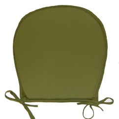 Plastic Dining Chair Covers Uk Hire Ipswich Seat Pads Plain Round Kitchen Garden Furniture Cushion Pad Assorted Colour | Ebay