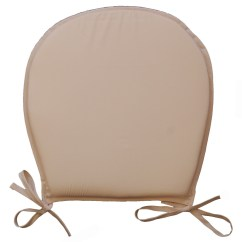 Chair Cushions For Kitchen Chairs Office Velvet Seat Pads Plain Round Garden Furniture