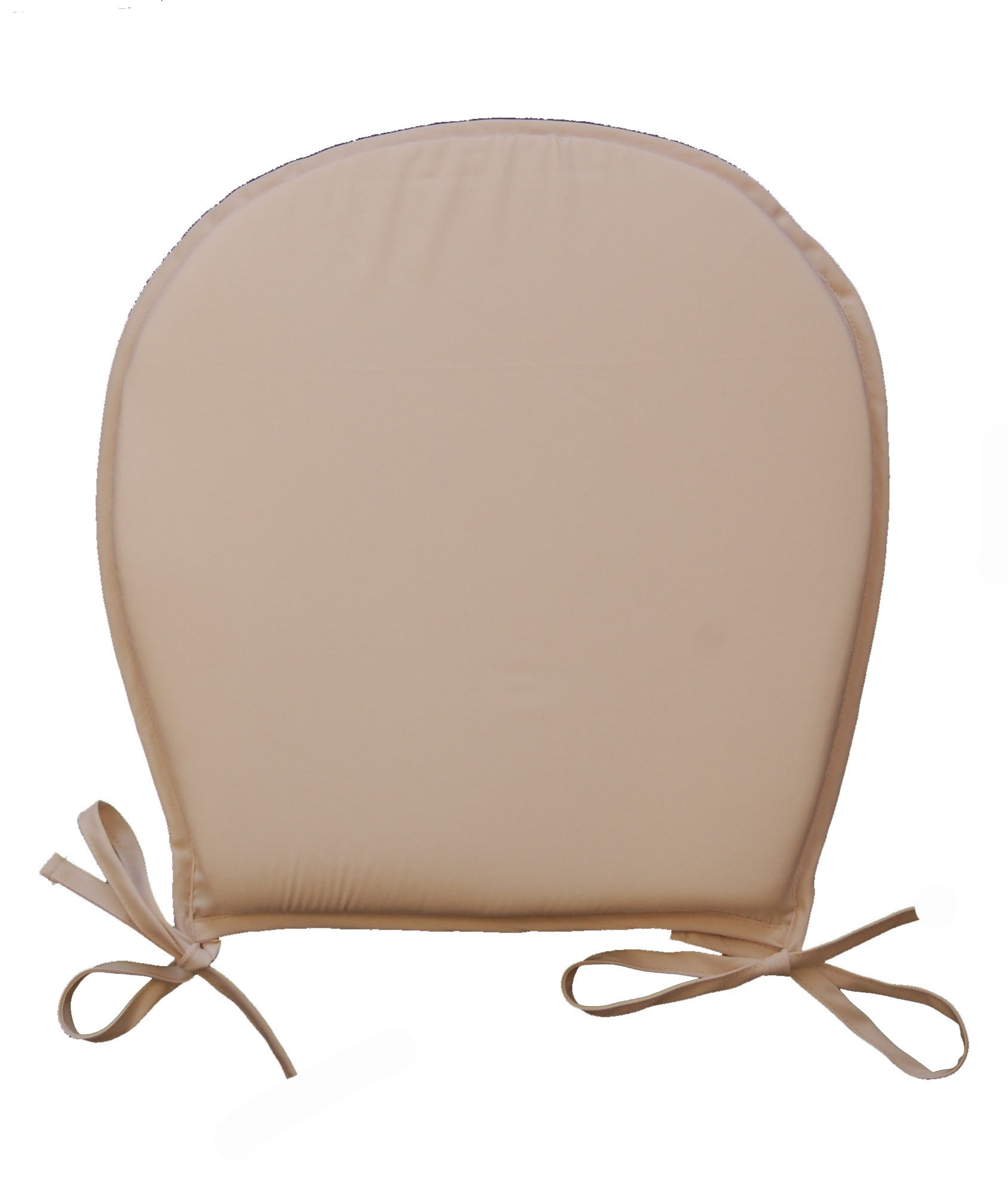 round chair pad orange reception chairs seat pads plain kitchen garden furniture