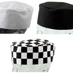 Kitchen Hats Corner Bench Polycotton Chefs Skull Cap Cool Cooking Catering Hat Pack Of 1 Or 5