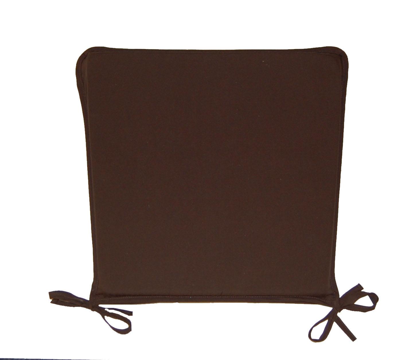 Dining Chair Seat Pads Plain Kitchen Garden Furniture