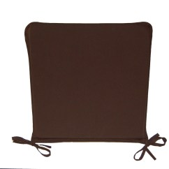 Dining Chair Cushions With Ties Nz Wood Folding Church Chairs Seat Pads Plain Kitchen Garden Furniture