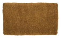 Hardwearing Traditional Hand Woven Doormat Melford Natural