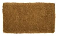 Hardwearing Traditional Hand Woven Doormat Melford Natural