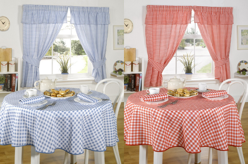Pencil Pleat Kitchen Curtains With Tie Backs Traditional Molly