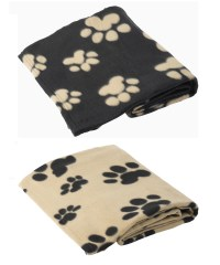 Pet Face Polar Fleece Dog Blanket Comforter Warm Soft ...