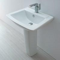 Europa St Moritz 1TH Contemporary Ceramic Bathroom Basin ...