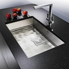 Franke Kitchen Sinks Rolling Island Cart Ikea Peak 1 Bowl Silk Stainless Steel Undermount