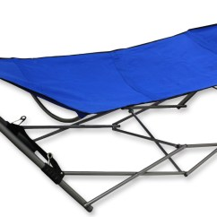 Hammock Chair Frame Diy Covers Light Grey Swinging With Folding Camping Outdoor Garden