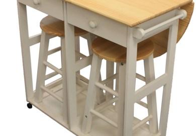 Foldable Kitchen Island Table