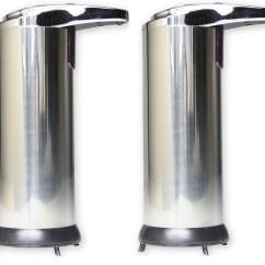 Kitchen Liquid Dispenser Oiled Bronze Faucet 2 X Hausen Automatic Hands Free Chrome Soap