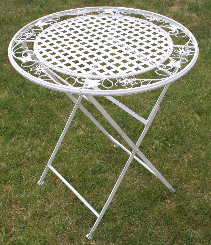 metal garden table chairs shiatsu massage chair maribelle folding furniture outdoor