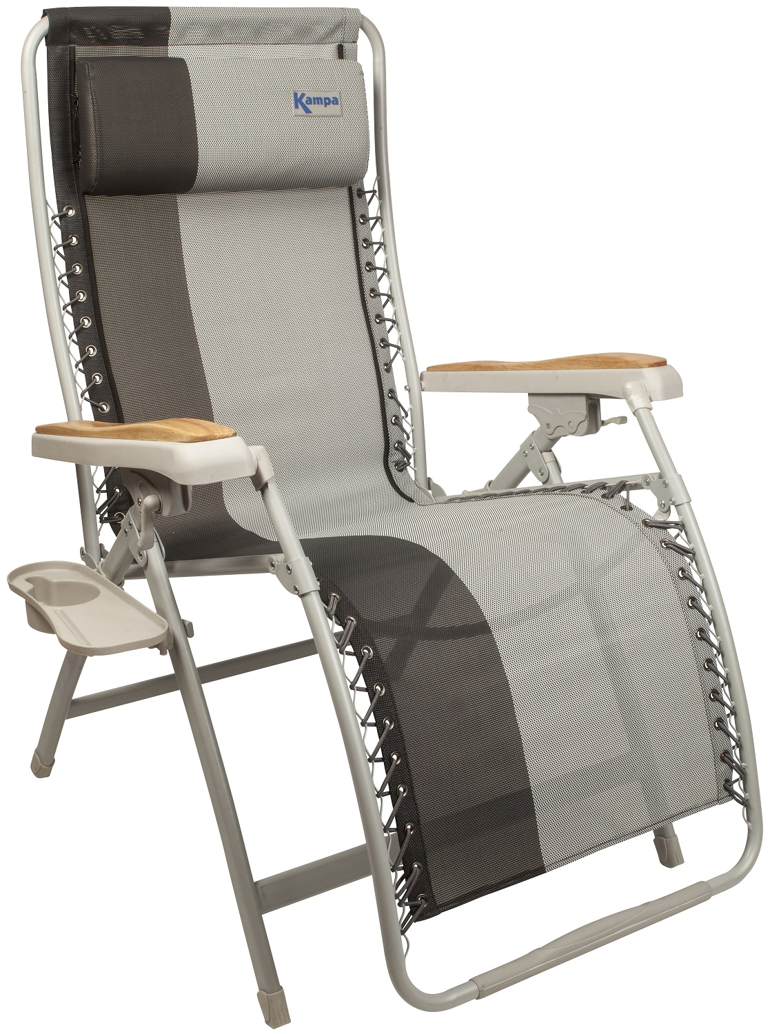 fishing chair with headrest pier one slipper chairs kampa extravagance xl reclining portable folding camping