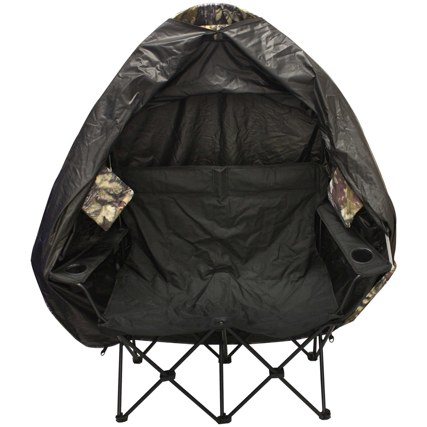 Two Person Folding Chair Nitehawk Camouflage Portable 2 Person Folding Hunting Tent