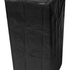 Chair Covers Range Giant Deck Woodside Stacking Cover Black Outdoor Value