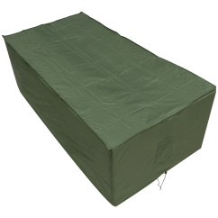 Green Garden Chair Covers Folding Ideas Oxbridge Large Table Cover Outdoor Value