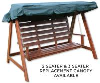 Woodside Swing Chair Replacement Canopy GREEN   Covers ...