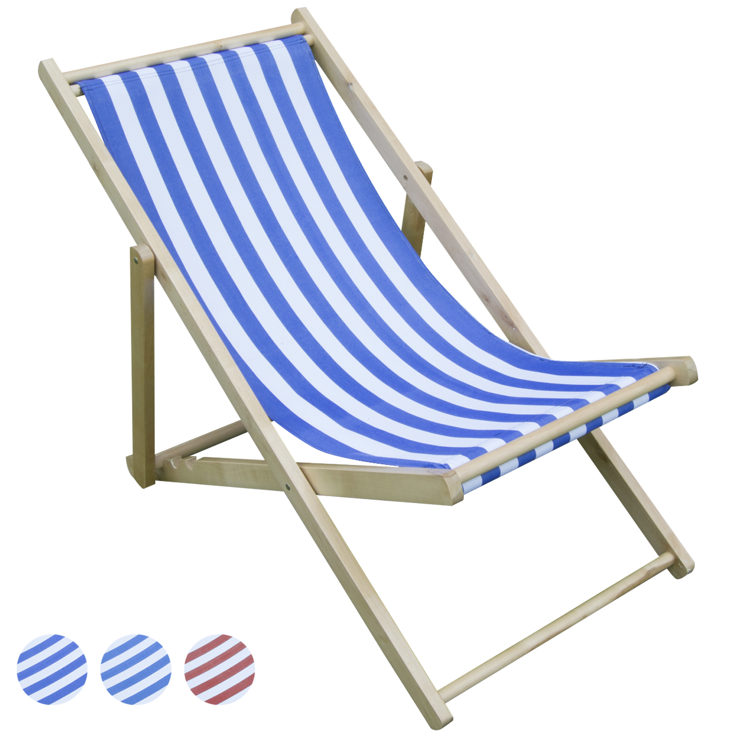 Folding Wood Beach Chair Woodside Wooden Beach Chair