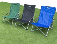 Andes Low Folding Beach/Fishing/Camping Deck Chair Outdoor ...