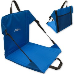 Portable Back Support For Chair Cover Rental Charlotte Nc Andes Blue Folding Beach Outdoor Garden