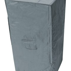Grey Patio Chair Covers Kids Pouf Oxbridge Stacking Cover Outdoor Value