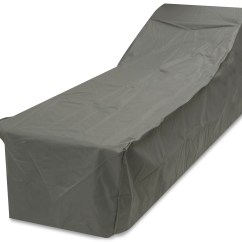 Grey Patio Chair Covers Carbon Fiber Oxbridge Sun Bed Lounger Waterproof Outdoor