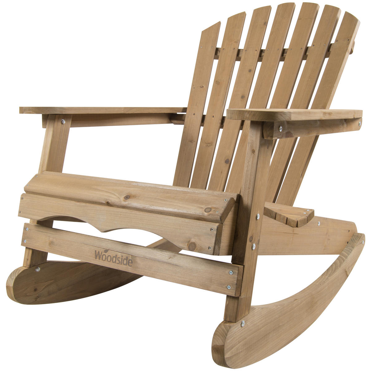 Woodside Rocking Adirondack Chair  Furniture  Outdoor Value