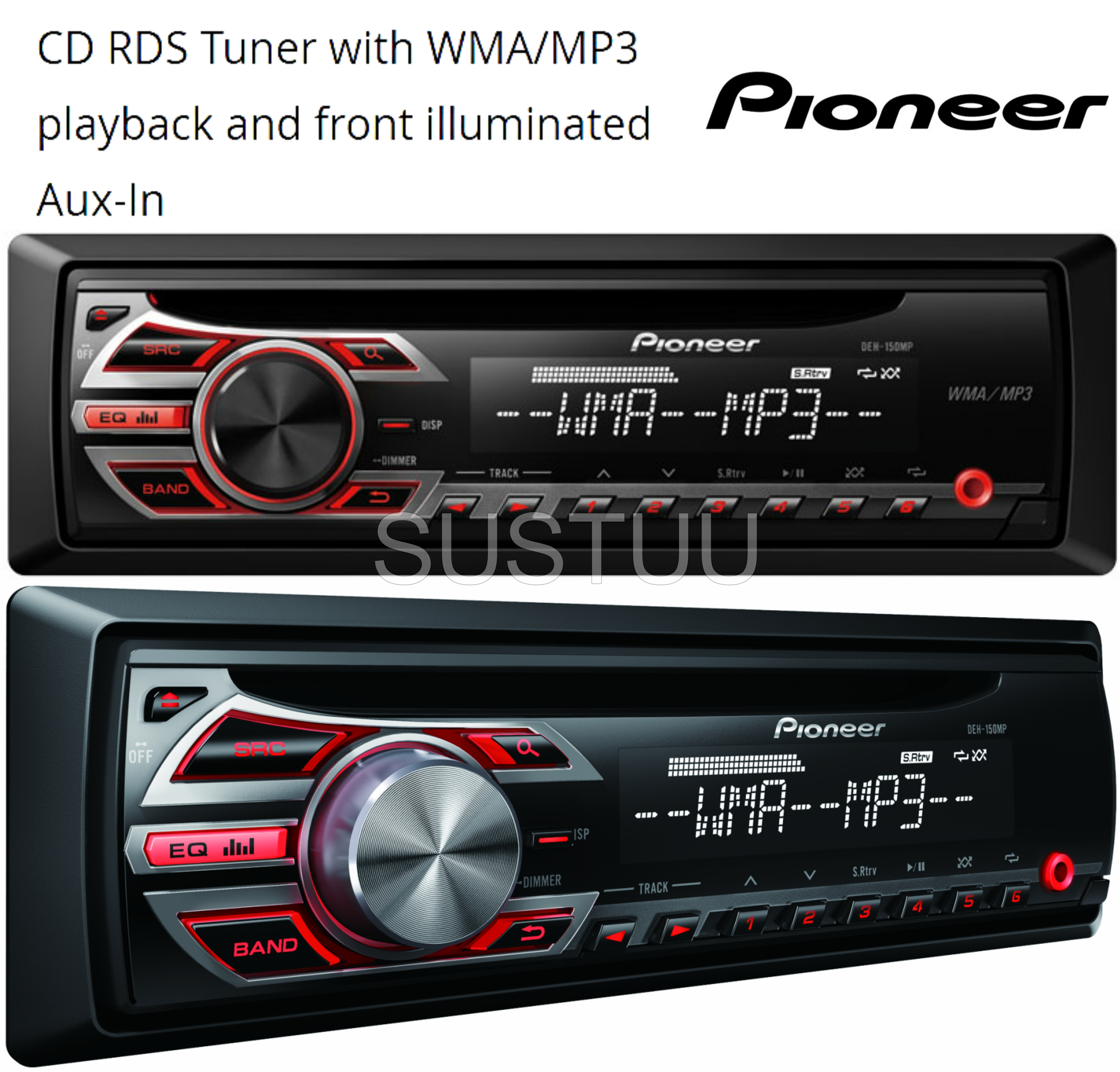 pioneer radio manual temperate forest food web diagram deh 150mp in car vehicle cd player music
