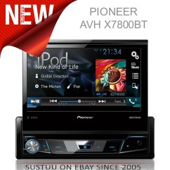 Pioneer Avh X7800bt Be Nungsanleitung Factory Wiring Diagrams Car Audio 7 Quotcarstereo Multimedia 1din Cd Dvd Usb Aux
