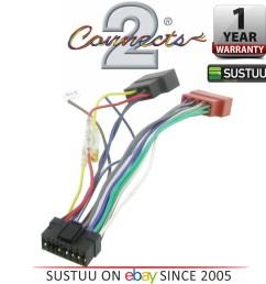 c2 21so01 sony 16 pin iso car stereo radio wiring harness lead 1year sony cdx 3160 cdx 3250 car radio stereo iso wiring loom car hifi [ 3877 x 3999 Pixel ]