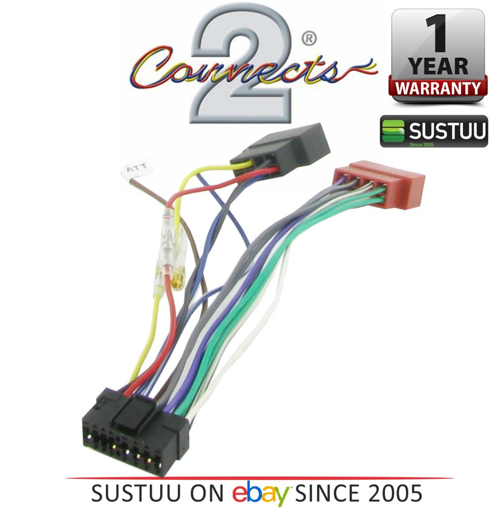 medium resolution of c2 21so01 sony 16 pin iso car stereo radio wiring harness lead 1year sony cdx 3160 cdx 3250 car radio stereo iso wiring loom car hifi
