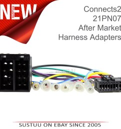 sentinel c2 21pn07 16 pin car stereo iso wiring harness adaptor lead for pioneer headunit [ 4088 x 4088 Pixel ]