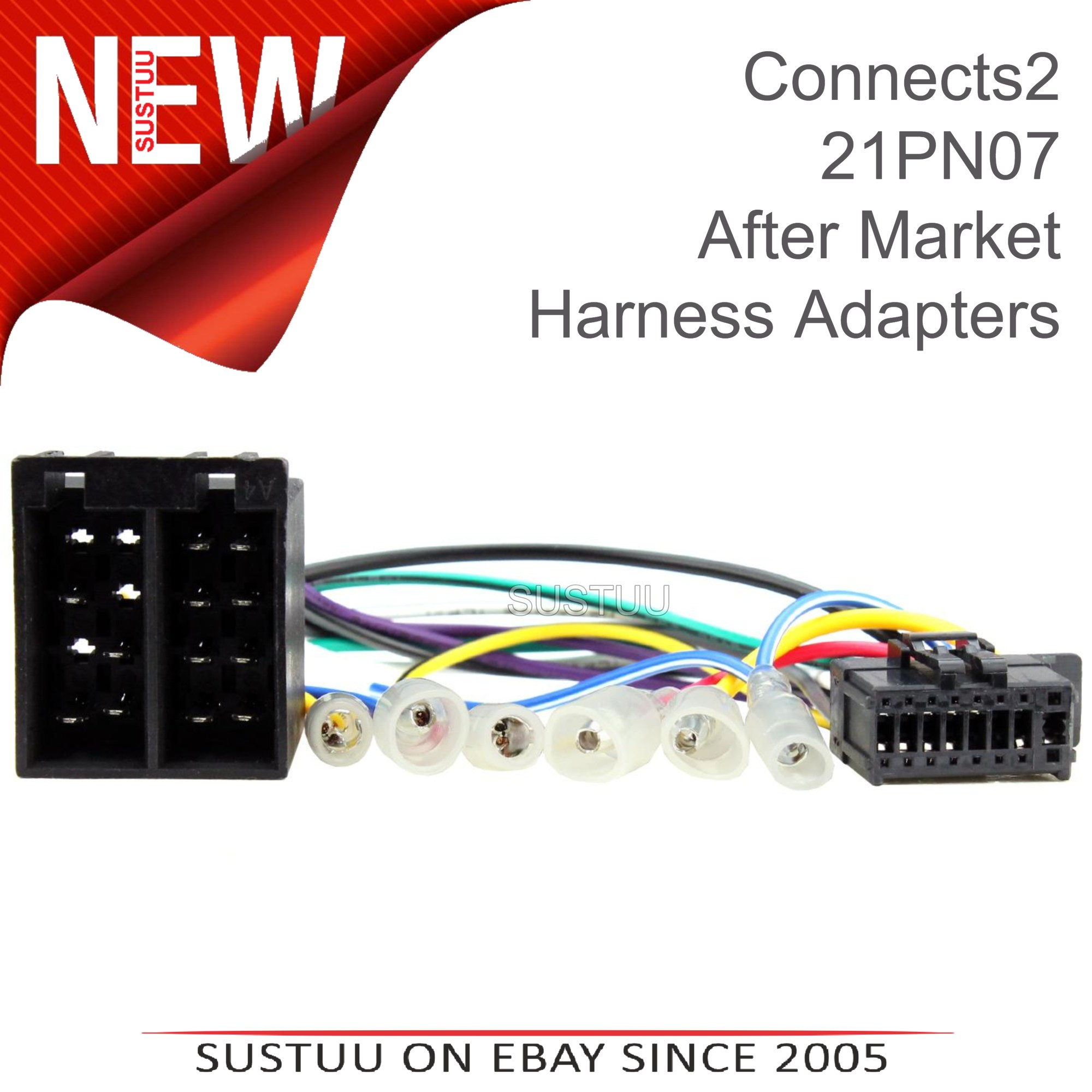 hight resolution of sentinel c2 21pn07 16 pin car stereo iso wiring harness adaptor lead for pioneer headunit