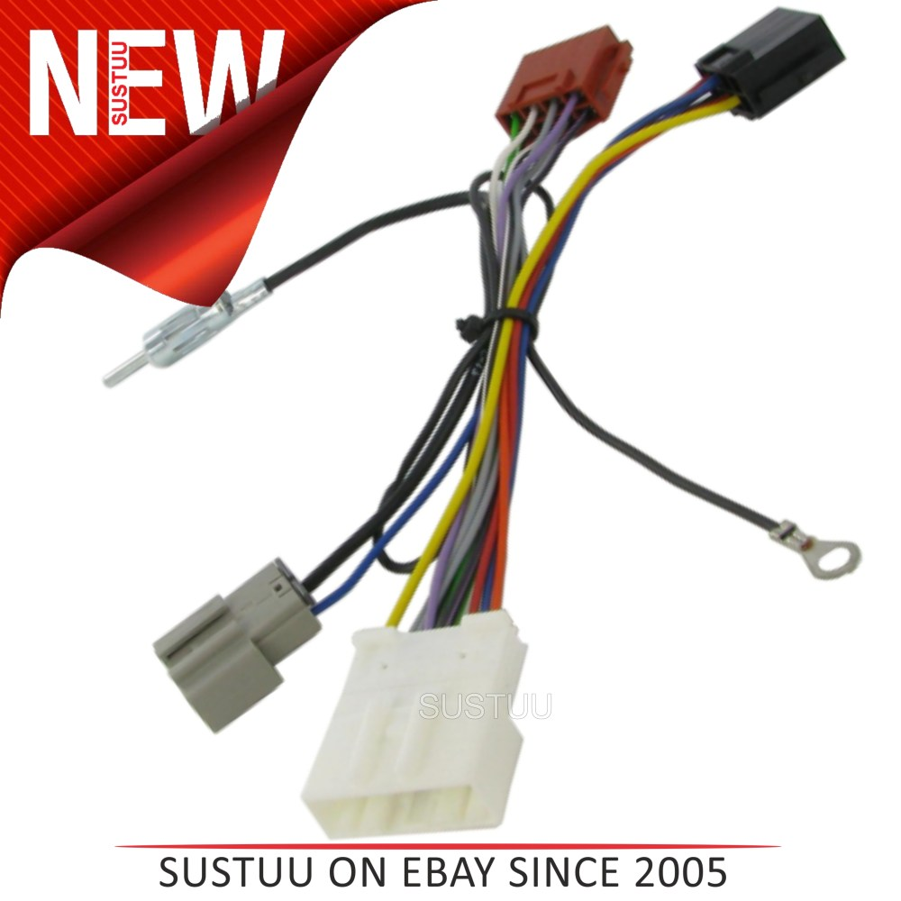medium resolution of c2 20ns06 car stereo iso wiring fakra harness adaptor nissan qashqai 2007 sustuu
