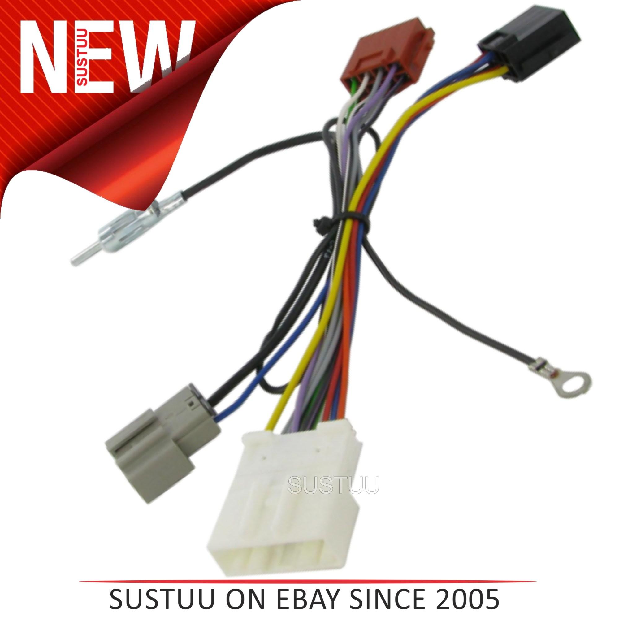 hight resolution of c2 20ns06 car stereo iso wiring fakra harness adaptor nissan qashqai 2007 sustuu