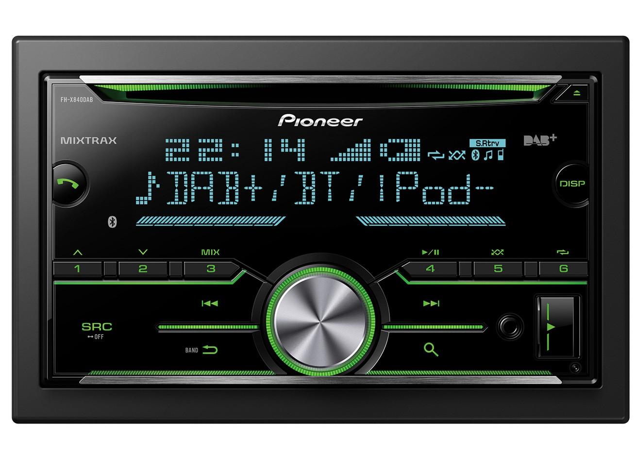 pioneer avh x8700bt spotify installieren ford fiesta radio wiring diagram 2000 fh x840dab 2 din bluetooth dab 43 usb