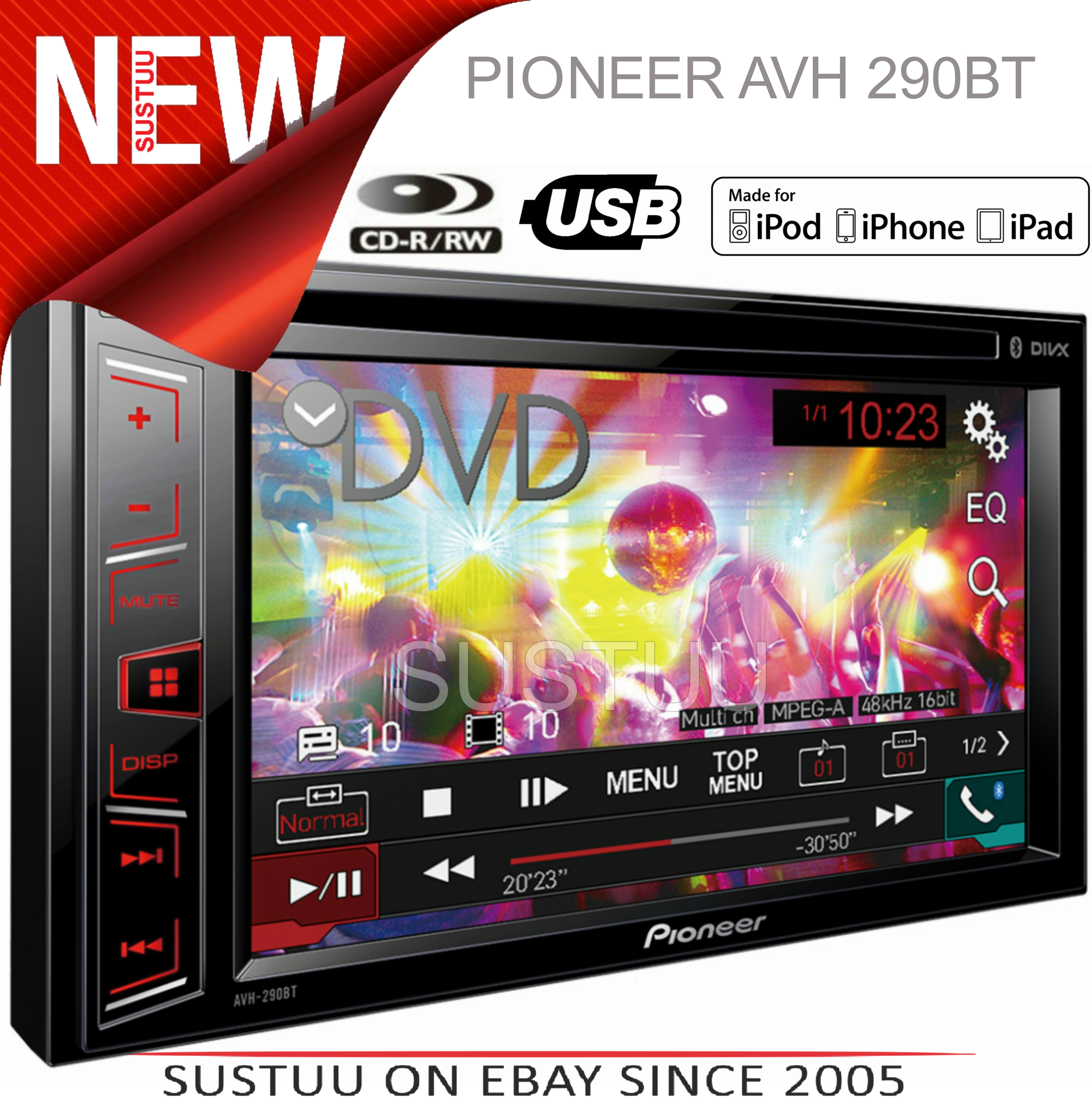 pioneer avh radio ausschalten plant pith diagram cross section dvd mp3 wma aac ipod iphone android car stereo