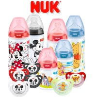 NUK Baby Disney Micky Mouse & Winnie The Pooh Soothers