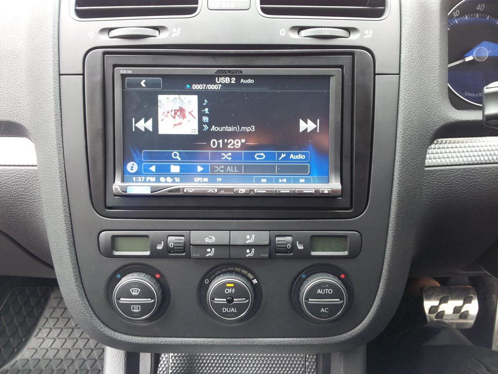 hight resolution of alpine ics x8 in car vehicle sound audio music headunit stereo double din thumbnail 3